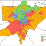 Atlanta Zip Code Map   Zip Code Map Of Atlanta (United States Of Within Atlanta Zip Code Map Printable