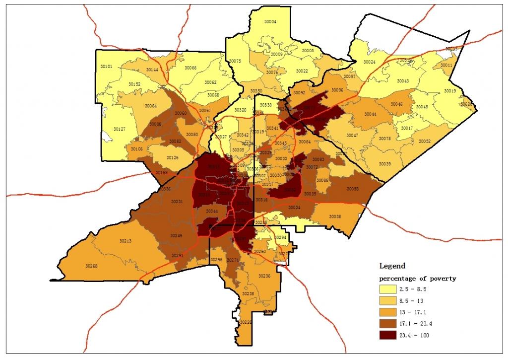 Atlanta Zip Codes Map | Park Ideas throughout Atlanta Zip Code Map Printable
