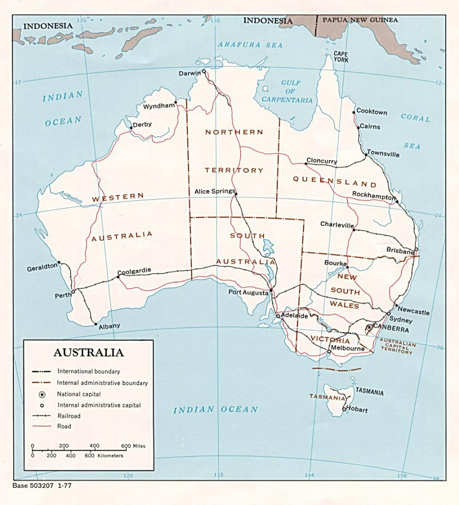 Australia Maps | Printable Maps Of Australia For Download with regard to Printable Map Of Western Australia