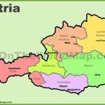 Austria Maps | Map Of Austria Inside Printable Map Of Austria