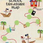 Back To School Treasure Map   Your Everyday Family Regarding Children's Treasure Map Printable