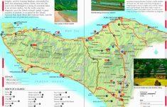 Printable Map Of Bali