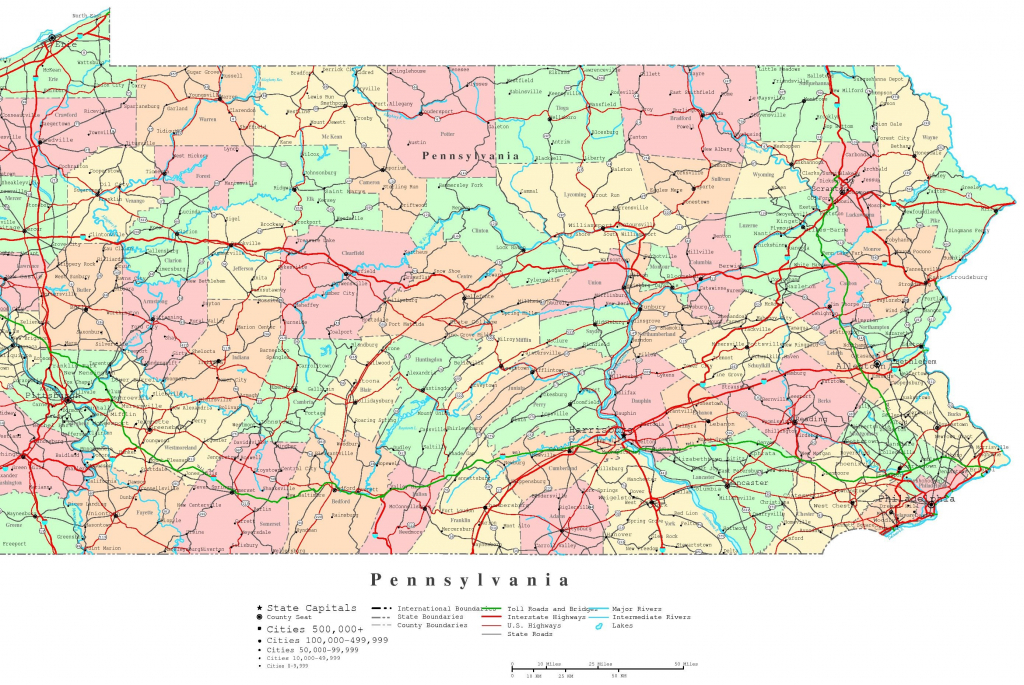 Banshee Pennsylvania On Us Map Pennsylvania Road Map Lovely for Printable Road Map Of Pennsylvania