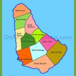 Barbados Maps | Maps Of Barbados For Printable Map Of Barbados