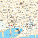 Barcelona Attractions Map Pdf   Free Printable Tourist Map Barcelona In Barcelona Street Map Printable