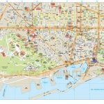 Barcelona City Map In Illustrator Cs Or Pdf Format   Barcelona City For Barcelona Tourist Map Printable