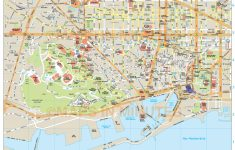 Barcelona Tourist Map Printable
