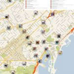 Barcelona Printable Tourist Map In 2019 | Barcelona | Barcelona Within Barcelona Tourist Map Printable