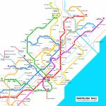 Barcelona Subway Map For Download | Metro In Barcelona   High Pertaining To Barcelona Metro Map Printable