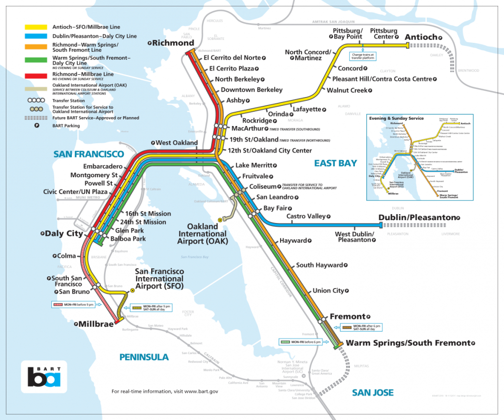 Bay Area Rapid Transit Expansion - Wikipedia with regard to Printable Bart Map