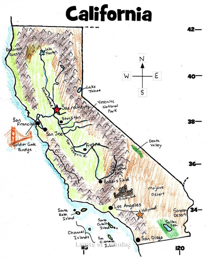 Bdfaccfdfb Street Maps Printable Map Of California For Kids within Printable Map Of California For Kids