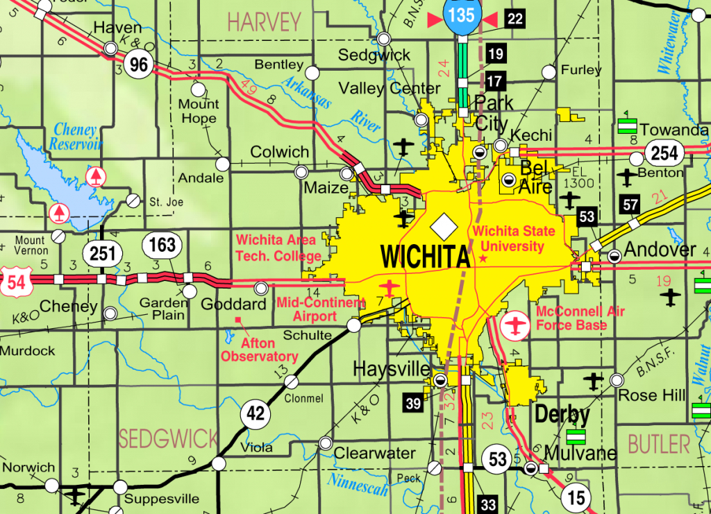 Bel Aire, Kansas - Wikipedia for Printable Street Map Of Wichita Ks
