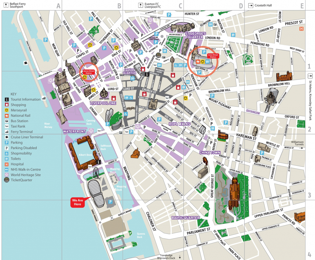 Belfast City Center Map - Topdjs for Belfast City Map Printable