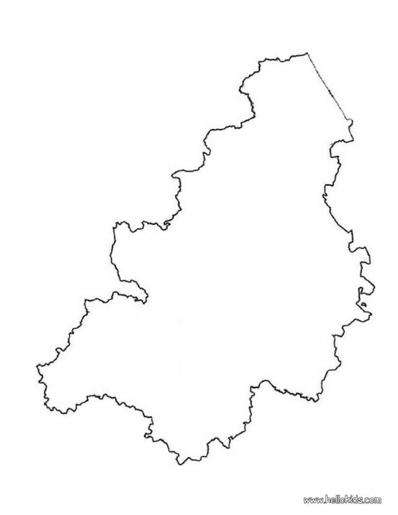 Belgium Map (Blank) To Print And Color Or Color On Line And Print within Printable Map Of Belgium