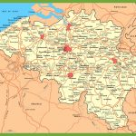 Belgium Maps | Maps Of Belgium Throughout Printable Map Of Belgium