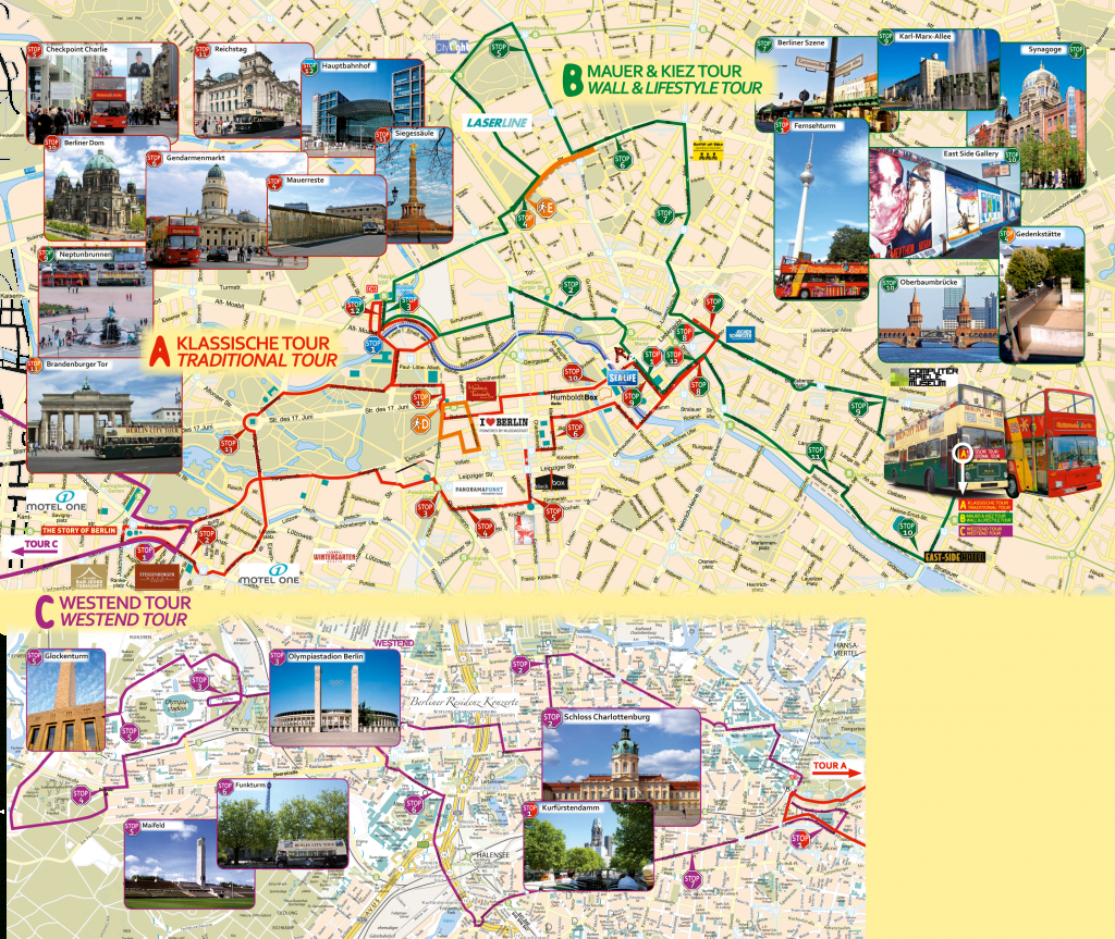 Berlin Attractions Map Pdf - Free Printable Tourist Map Berlin inside Berlin Tourist Map Printable