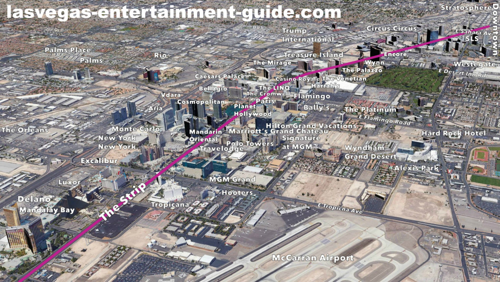 Best Las Vegas Strip Maps throughout Printable Map Of Las Vegas Strip With Hotel Names