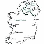 Best Photos Of Ireland Map Outline Printable   Ireland Map Outline Intended For Printable Blank Map Of Ireland