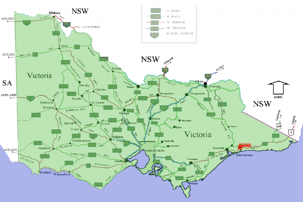 Bestand:nowa Nowa Location Map In Victoria - Wikipedia intended for Printable Map Of Victoria Australia
