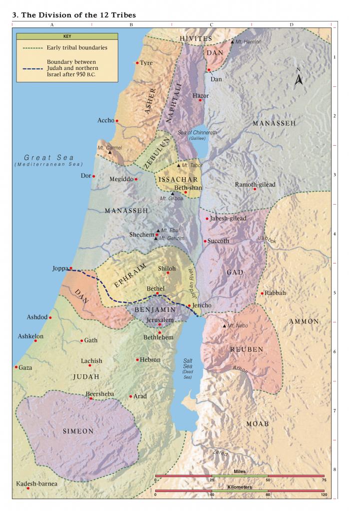 Bible Maps with Printable Bible Maps