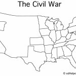 Blank Civil War Map | Doreen's Board | Map Worksheets, War, Map With Regard To Me On The Map Printables