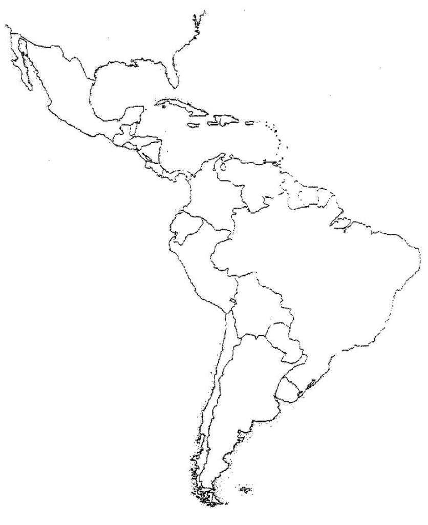 Blank Latin America Map Quiz | Social Studies | Latin America Map throughout Latin America Map Quiz Printable