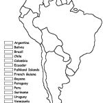 Blank Latin America Map Quiz Social Studies Pinterest Inside In For Inside Latin America Map Quiz Printable