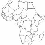 Blank Map Of Africa   Unit On African Music: Have The Kids Fill In For Blank Outline Map Of Africa Printable