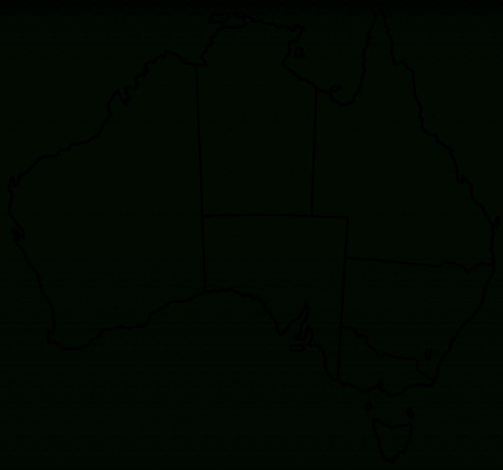 Blank Map Of Australia Printable 1 Maps Update 8931015 Free In inside Printable Map Of Australia With States