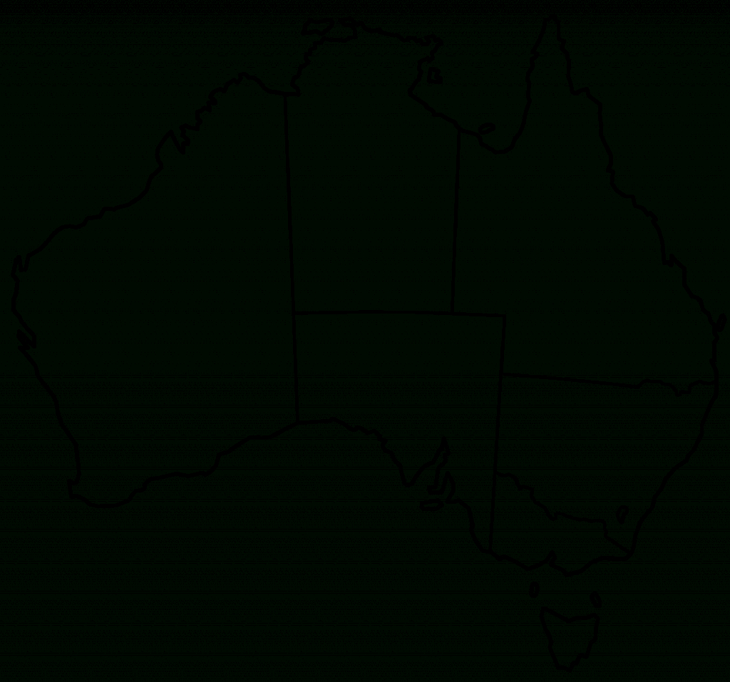 Blank Map Of Australia Printable 1 Maps Update 8931015 Free In throughout Printable Map Of Australia