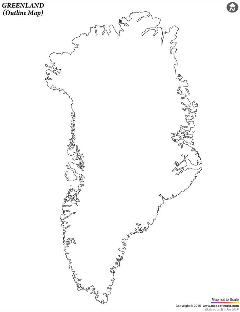 Blank Map Of Greenland | Greenland Outline Map inside Printable Map Of Greenland
