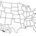 Blank Map Of The United States Pdf Fresh Blank Us Map With States Intended For Blank Us Map Printable Pdf