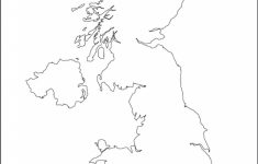 Blank Map Of Scotland Printable