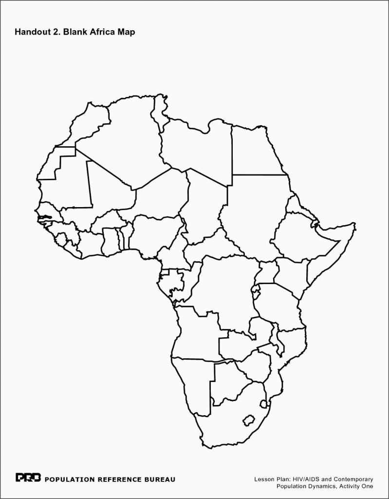 Blank Outline Map Of Africa And Travel Information | Download Free with regard to Blank Outline Map Of Africa Printable
