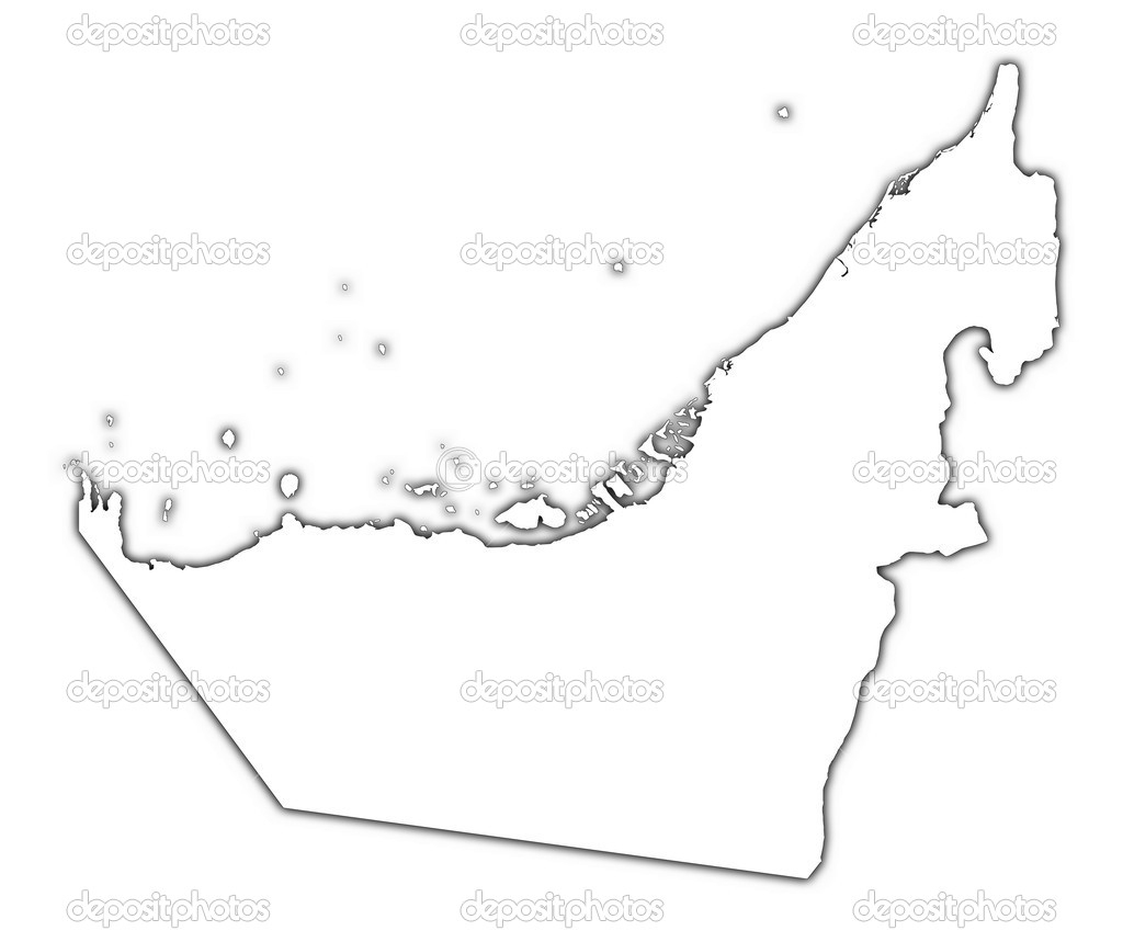 Blank Outline Map Of Uae | Download Them And Print for Outline Map Of Uae Printable