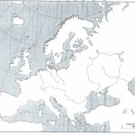 Blank Physical Map Of Europe   Free Maps World Collection Inside Printable Blank Physical Map Of Europe