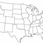 Blank Printable Map Of The Us Clipart Best Clipart Best | Centers Inside Blank Printable Usa Map