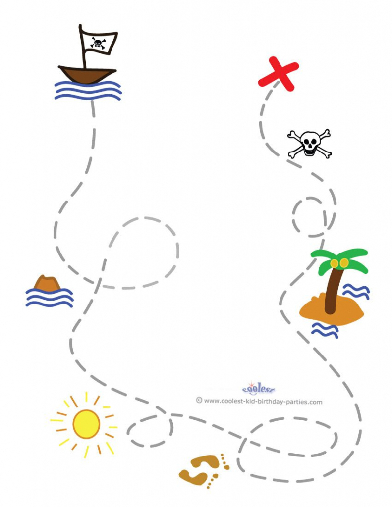 Blank Printable Treasure Map Invitation Coolest Free Printables regarding Maps For Invitations Free Printable