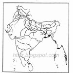 Blank River Map Of India Icse Geography For India River Map Outline Printable