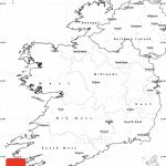 Blank Simple Map Of Ireland Pertaining To Printable Blank Map Of Ireland