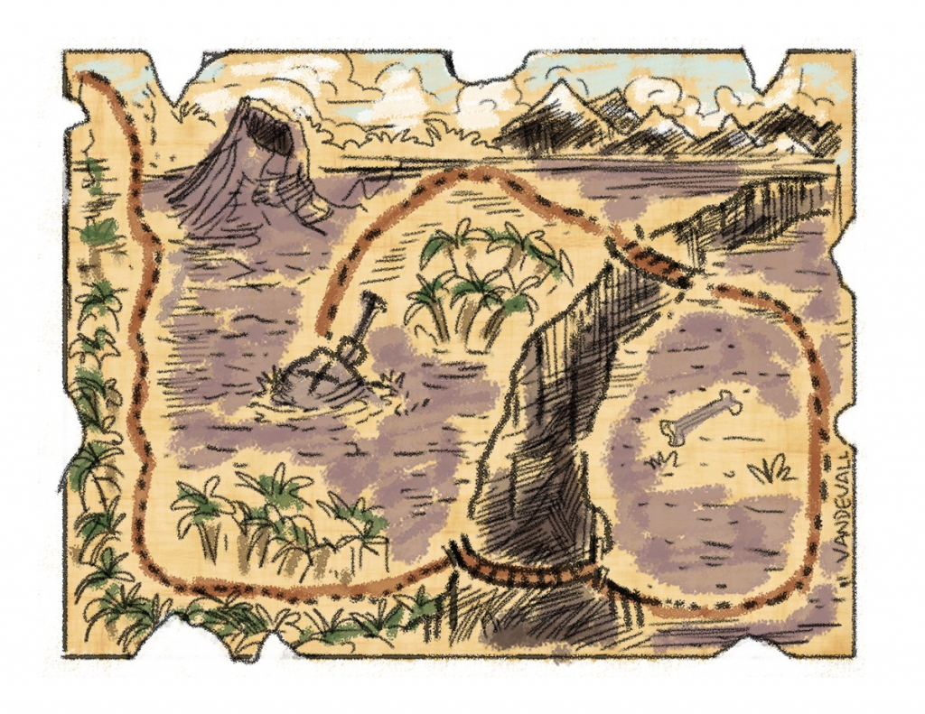 Blank Treasure Mapaperrintableirate Maps Torintdf Free Template in Free Printable Treasure Map