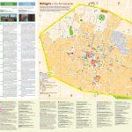Bologna City Centre Map For Bologna Tourist Map Printable