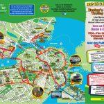 Boston Tourist Attractions Map   Aishouzuo   Boston Tourist Map With Regard To Printable Map Of Boston Attractions