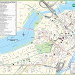 Boston Tourist Attractions Map   Boston Tourist Map Printable Pertaining To Boston Tourist Map Printable