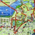 Boston Tourist Map   Tourist Map Of Boston (United States Of America) With Boston Tourist Map Printable
