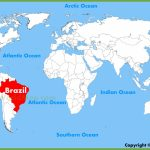 Brazil Maps | Maps Of Brazil With Free Printable Map Of Brazil