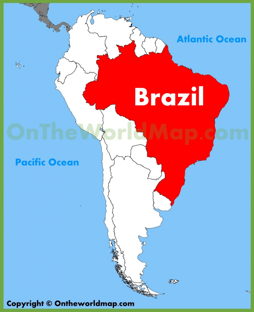 Brazil Maps | Maps Of Brazil within Printable Map Of Brazil