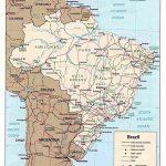 Brazil Maps | Printable Maps Of Brazil For Download Regarding Free Printable Map Of Brazil