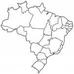 Brazil States Blank Free Printable Map Of Brazil | Indiafuntrip Within Free Printable Map Of Brazil