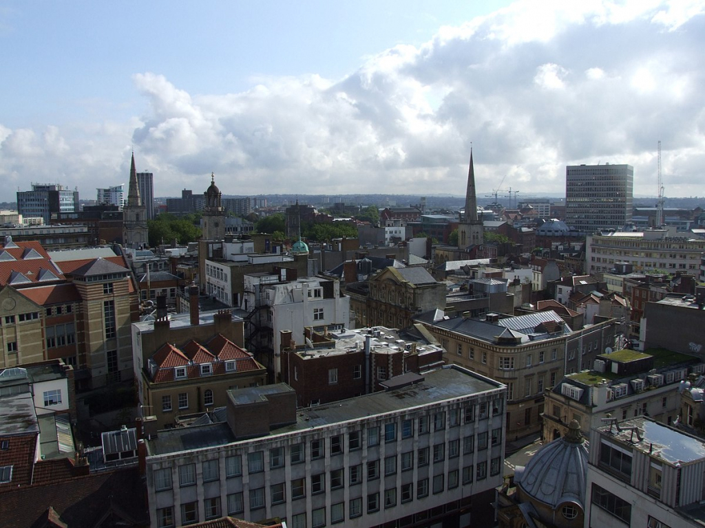 Bristol City Centre - Wikipedia with Bristol City Centre Map Printable